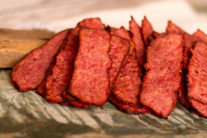 PBAC-12 Pork Bacon Jerky 12 oz