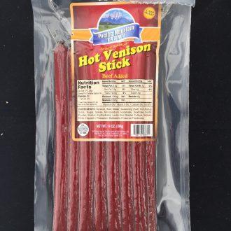 HVSTX-14 Hot Venison Sticks 14 oz