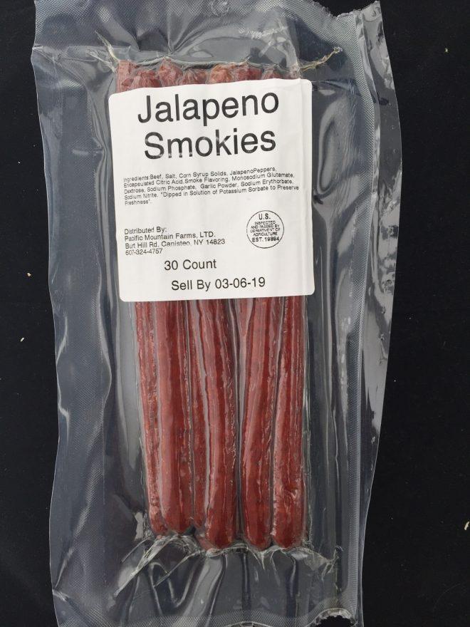 SMKS-J Jalapeno Beef Smokies
